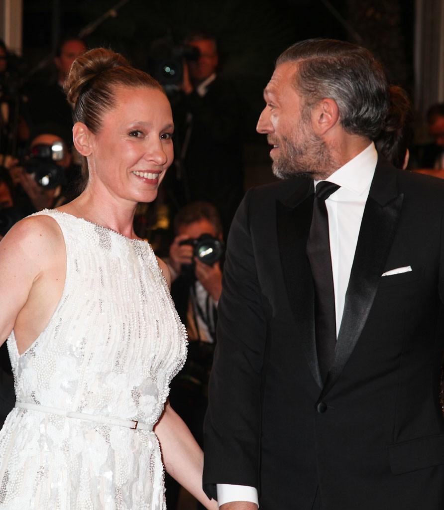 EMMANUELLE BERCOT AND VINCENT CASSEL - RED CARPET OF THE FILM 'MON ROI' AT THE 68TH FESTIVAL OF CANNES 2015