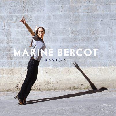Photo Marine Bercot, album ravi(e)s, chanson française, slam, Hip Hop